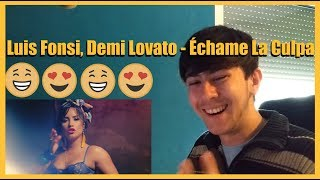 Download Lagu Luis Fonsi, Demi Lovato - Échame La Culpa REACTION VIDEO [I WANT MORE OF THIS!] Gratis STAFABAND