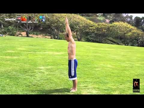 How to do a Arabian Flip Tutorial 180 Front Back flip gymnastics lesson