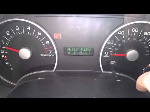 2006 Ford Explorer Oil Change Required Light Reset