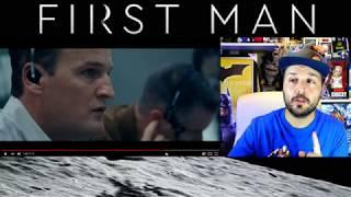 FIRST MAN - SEGUNDO TRAILER 2 REACTION - PRIMERA REACCIÓN - DAMIEN CHAZELLE - RYAN GOSLING