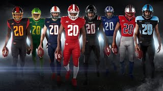 XFL Reveals NEW Uniforms & Official Footballs! (Are They Dope?)