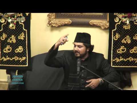 Shahadt of 11th Imam:Alvida 1437   Maulana Absar Naqvi