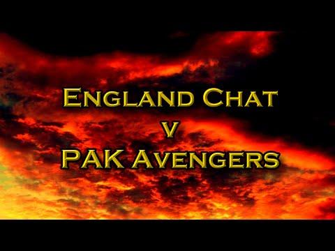 England Chat v PAK Avengers