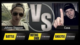 JBB 2015 [PLATZ 3 BATTLE] - Casa vs. Johnny Diggson [ANALYSE]