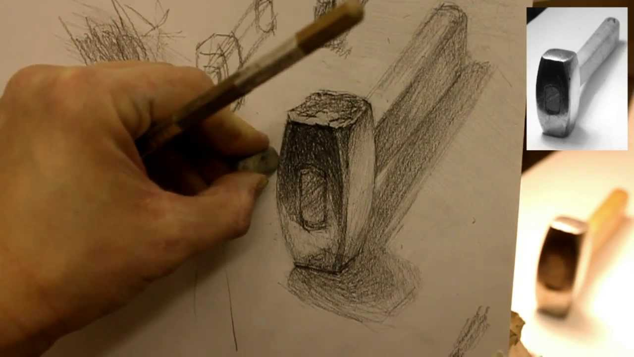 Чем придать тени рисункам
