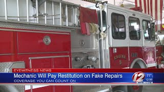 Mechanic to Pay Restitution for Fake Repairs