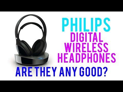 Philips Digital Wireless Headphones (SHD8600) - Real Reviews
