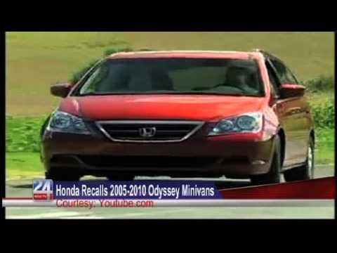 Honda Recalls 2005-2010 Odyssey Minivans