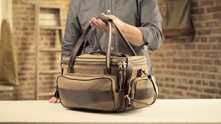 The Guide Bag   Waxed Canvas & Leather Range Bag