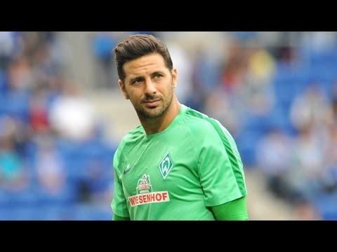 GOL y ASISTENCIA de Claudio Pizarro | Borussia M'gladbach - Werder Bremen 3-4 |  DFB  CUP  2015