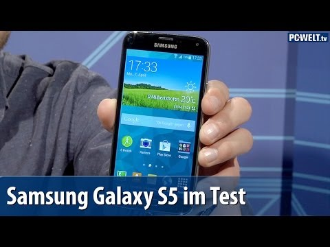 Samsung Galaxy S5 im PC-WELT-Test | deutsch / german