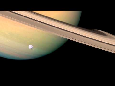 5.6k Saturn Cassini Photographic Animation - First 1 minute of footage from In Saturn's Rings