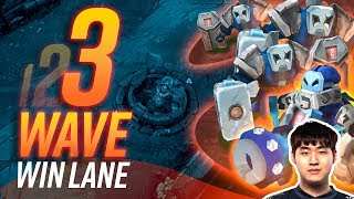 The Three Wave WIN Lane GUARANTEED Strategy | Skill Capped