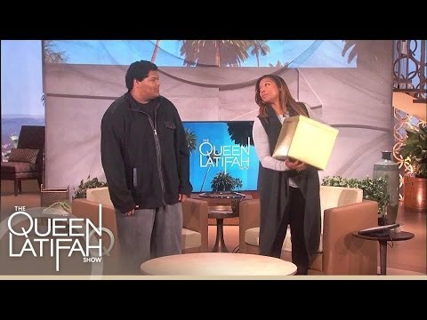 Freestyle Rapper Takes On Queen! | The Queen Latifah Show