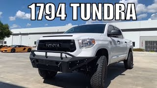 TOYOTA TUNDRA 1794 Edition, Fox Lift Amp Steps BMC for 35's