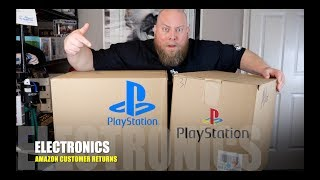 I Paid $286 for $2,212 of MYSTERY Electronics + Amazon Customer Returns Pallet w/ SONY PLAYSTATION