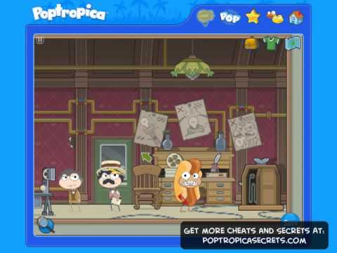 Poptropica Cheats for Mystery Train Island Part 1