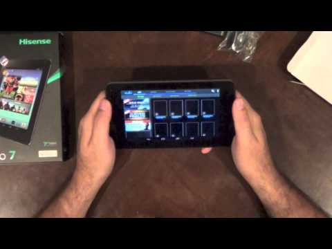 Hisense 7 Pro Unboxing and First Look. The Walmart exclusive tablet!