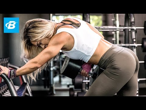 Cassandra Martin's Heavy Back Workout