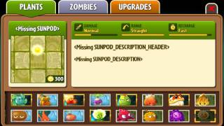Unused World-based Seed Packets Changed - Plants Vs. Zombies 2: It
