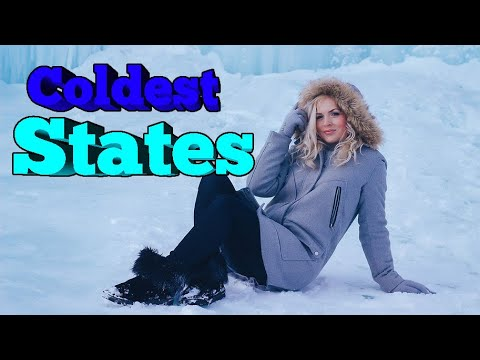 Top 10 Coldest States.