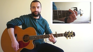 The Lady in Red - Chris de Burgh Acoustic Guitar Cover - How to Play The Lady in Red on Guitar