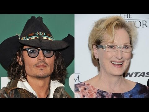 Johnny Depp Going 'Into the Woods' With Meryl Streep