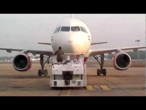 Air India flight AI 507 Trivandrum-Chennai-Bangalore is coming to Departure Terminal