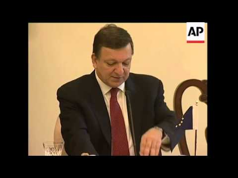 Climate change talks, Indian PM, Swedish PM, Barroso sots