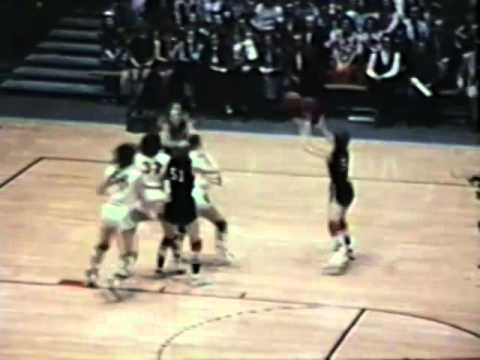 1973 Iowa Girls State Basketball Championship: Mediapolis 68, Adel 51 - YouTube
