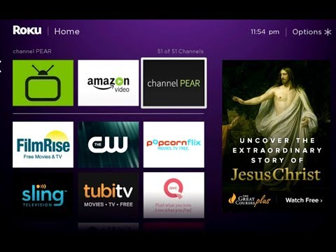 Get Free Cable TV On ROKU - Channel Pear Review
