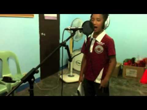 Pinoy Boy with High Voice  THE PRAYER