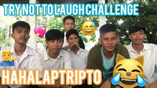 Brgy Tibay Vlogs#4 /TRY NOT TO LAUGH CHALLENGE