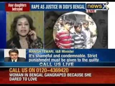 West Bengal Rape Case: Gangrape By Kangaroo Court. Three Rapes In 24 Hours video