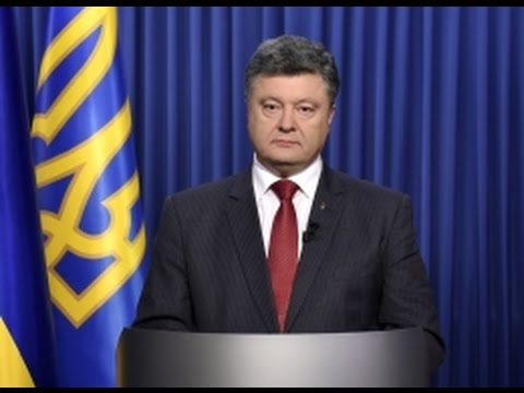 Poroshenko casts vote in Ukraine's first parliamentary election since start of conflict