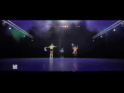 Stefano & Latanya + Ashroa 7-11 (afrodance) - GDC Rotterdam - Nieuwjaarsshow