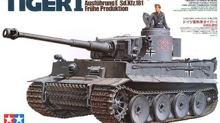 Tamiya Tiger I 1/35 Scale - Build