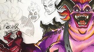 DEMON ASSASSIN - Character Design Session!