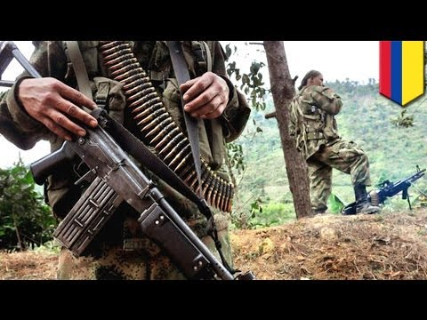 Four Colombian army soldiers killed in rebel attack