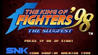 The King of Fighters 98  - Game End with Random Fighters