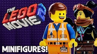 THE LEGO MOVIE 2 Emmet and Lucy Official Minifigures! (New Pieces & MORE!)