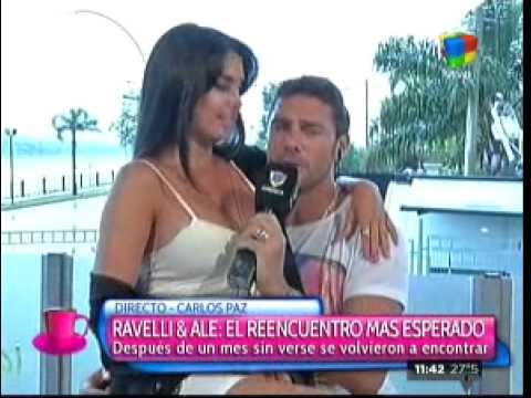 Matías Alé y Sabrina Ravelli: su tan ansiado reencuentro
