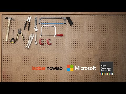 Isobar Nowlab & Microsoft Open Government Data Hackathon