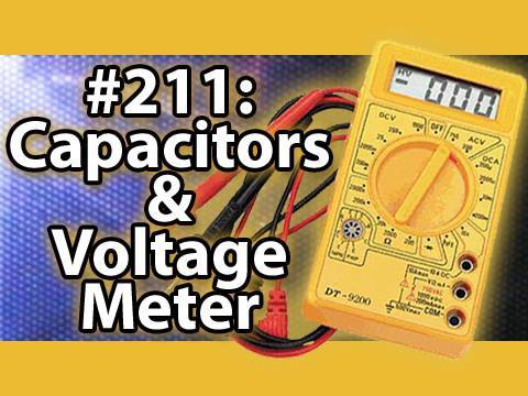 Is It A Good Idea To Microwave Capacitors & Voltage Meters?