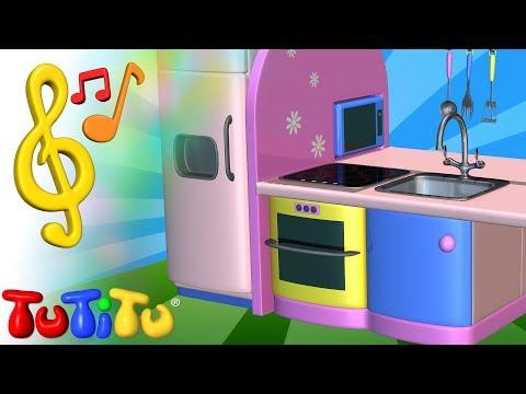 Piosenki Po Angielsku Dla Dzieci | Kuchnia | Nauka Angielskiego Dla Dzieci