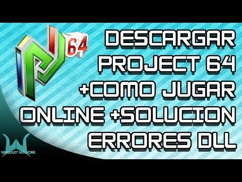 Como Descargar Instalar y Jugar Project 64 Online [Kaillera] - 2015