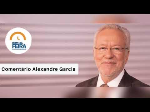 Comentário de Alexandre Garcia para o Bom Dia Feira - 12 de Setembro