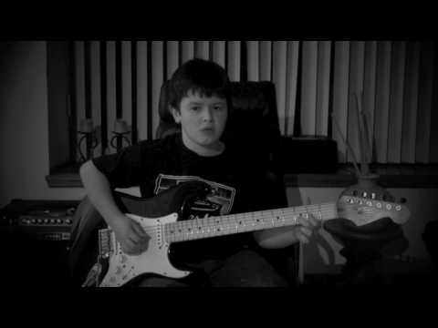 Metallica - Master of Puppets Guitar Cover by David (10 Yrs Old)