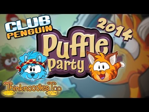 Club Penguin: Puffle Party 2014 Walkthrough