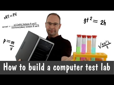 How To Build A Computer Test Lab